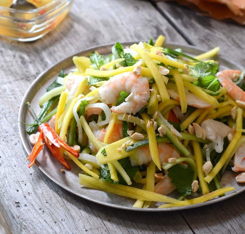 Vietnamese Green Mango And Shrimp Salad