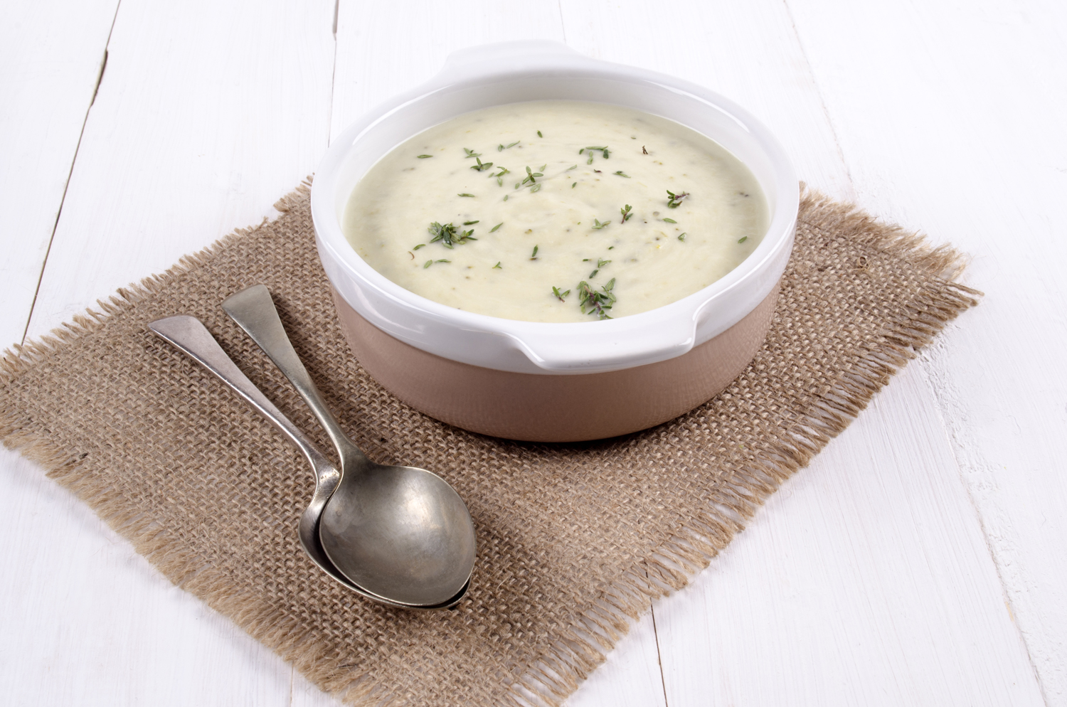 Broccoli And White Bean Soup