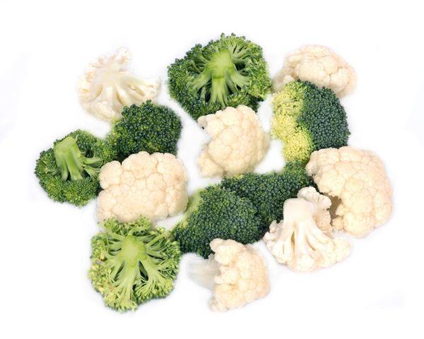 Festive Eating – Roasted Broccoli And Cauliflower